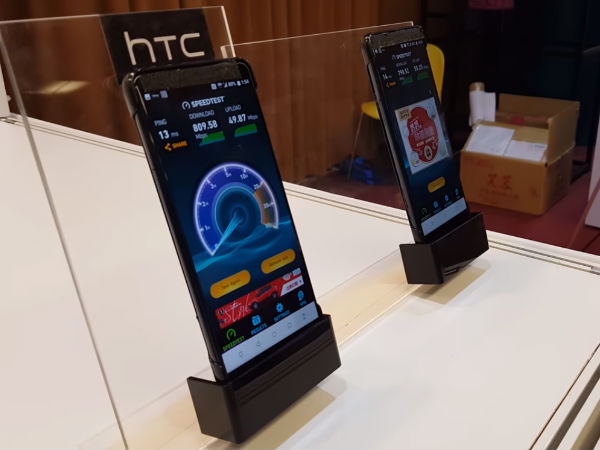 HTC U12 at 5g event