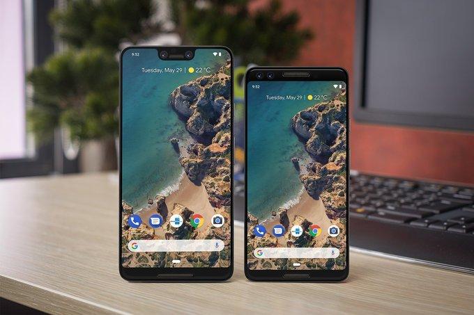 Google Pixel 3 Renders