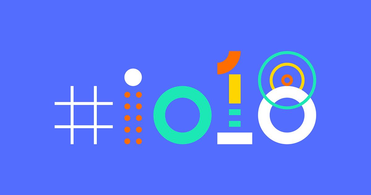 Google I/O 2018 Banner