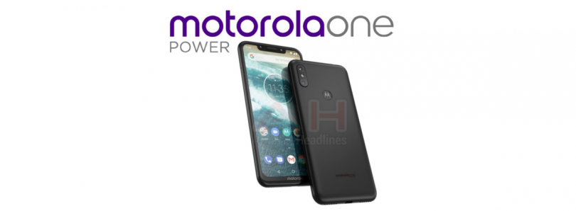 Motorola One Power leaked image