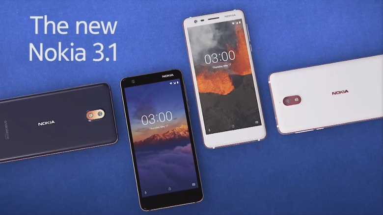 Nokia 3.1 coming to US