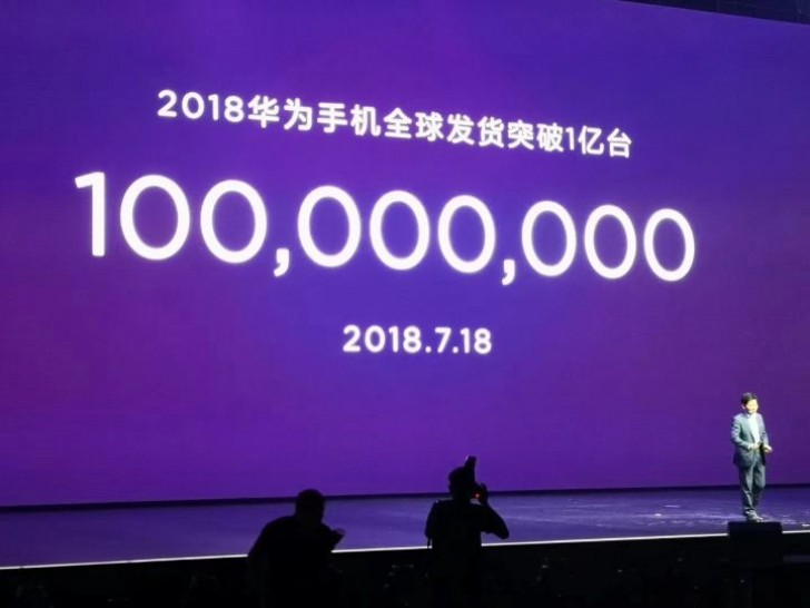 100 million smartphone shipments