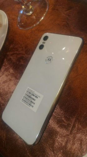 Motorola One second leaked image