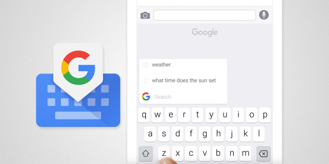 Gboard Google Keyboard