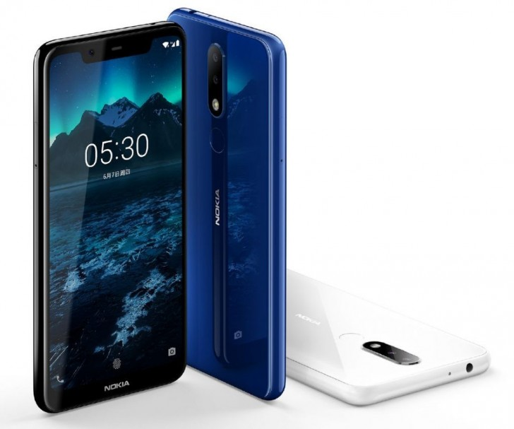 Nokia 5.1 Plus colors