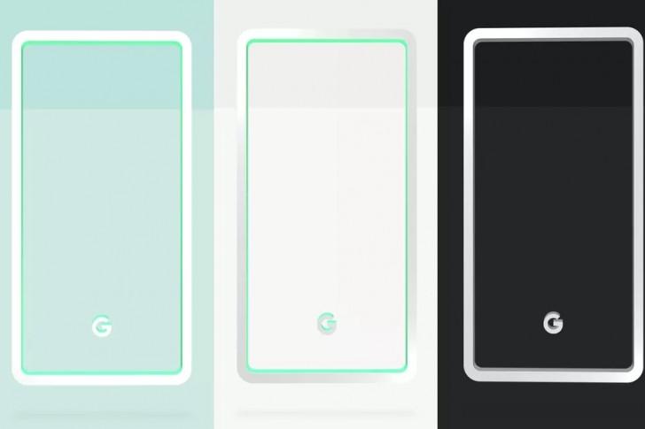 Google Pixel 3 color teaser