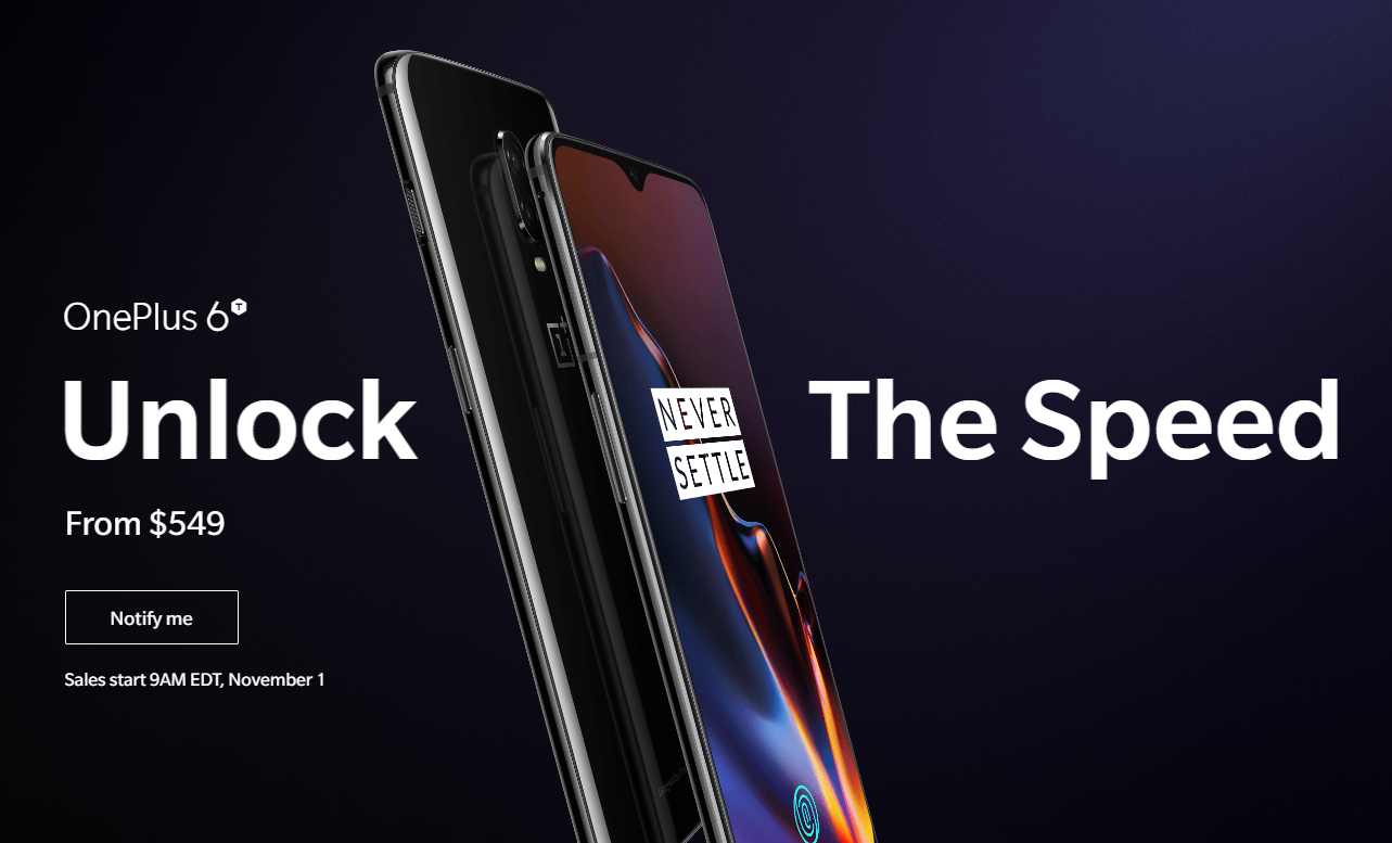 OnePlus 6T - Official