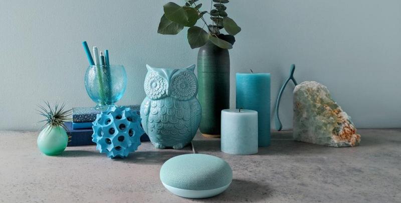 Google Home Mini - Aqua Color