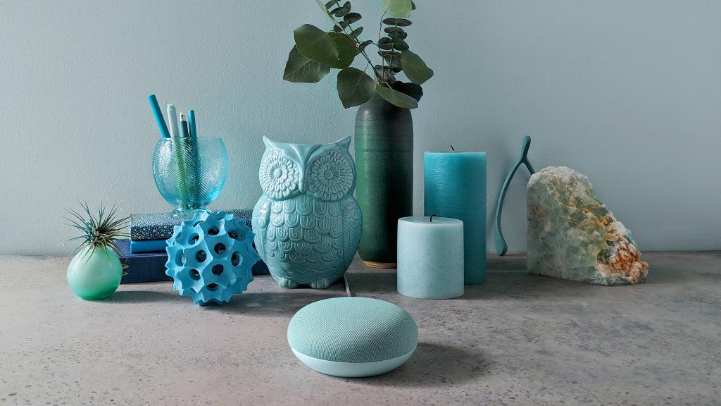 Google Home Mini - Aqua Color