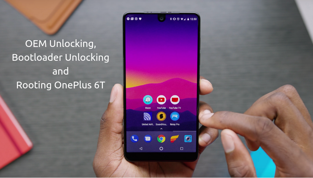 Steps to root OnePlus 6T