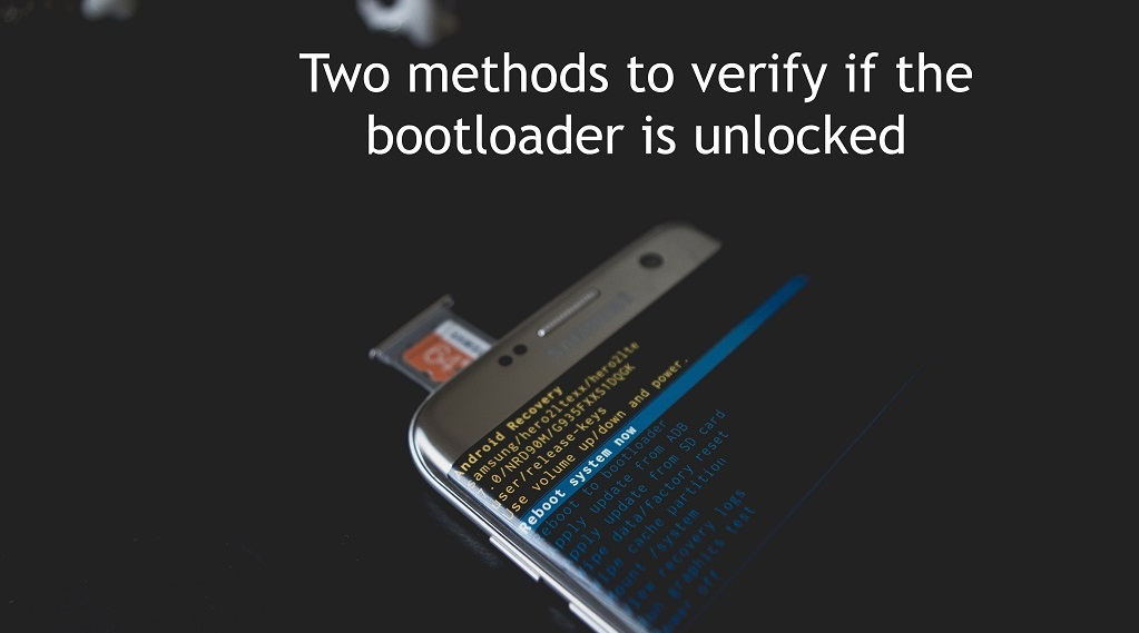 Ways to verify bootloader is unlocked