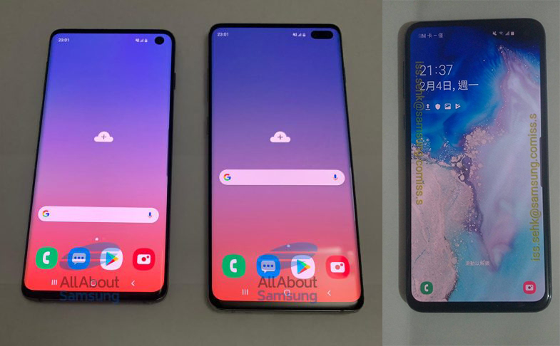 All Samsung Galaxy S10 Phones
