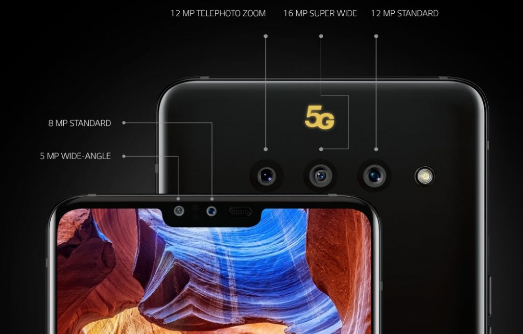 LG V50 ThinQ with triple camera and 5G