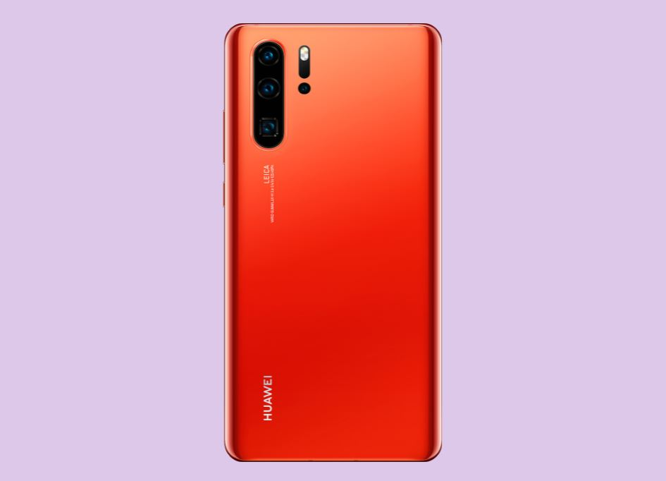 Huawei P30 Pro - Amber Sunrise Color