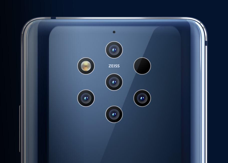 Nokia 9 PureView - 5 Camera System