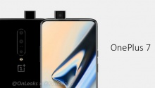 OnePlus 7 - CAD Renders with popup front camera