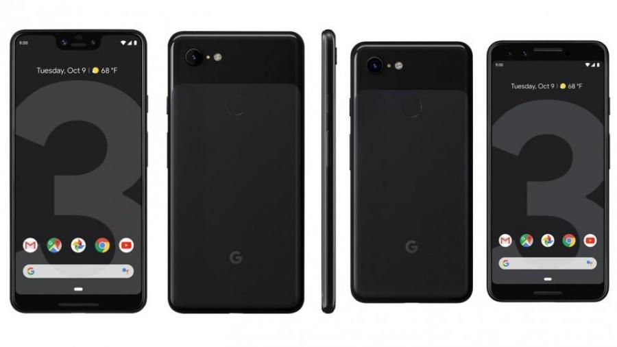 Google Pixel 3 and Pixel 3XL front
