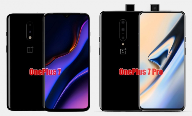 OnePlus 7 and 7 Pro