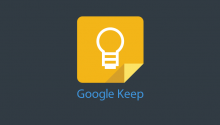 Google Keep Dark