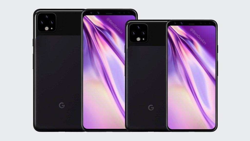 Google Pixel 4 leaked render