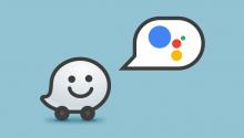 Google Waze meets Google Assistant