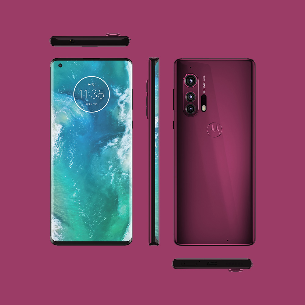 Motorola Edge+ (Red)